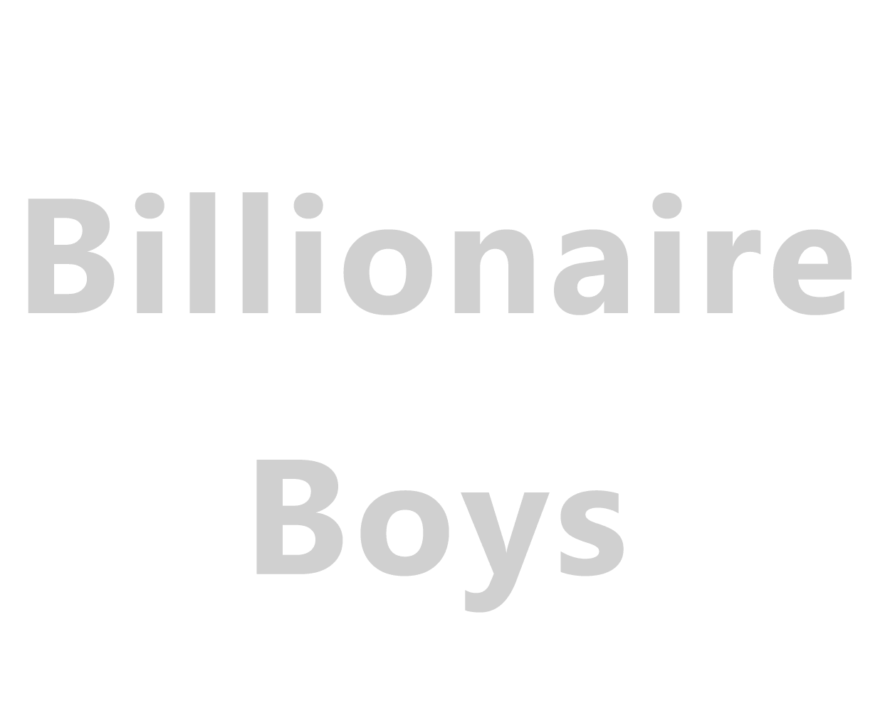 Billionaire Boys